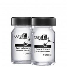 REDKEN Cerafill Maximize with Aminexil - Ампулы двойного действия против истончения волос 10 х 6мл