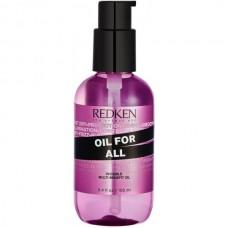 REDKEN OIL FOR ALL - Мультифункциональное масло для блеска и гладкости волос 100мл