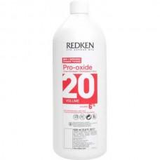 REDKEN Pro-Oxide Cream Developer 20 Vol (6%) - Проявитель-крем для краски 1000мл