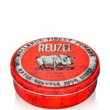 REUZEL High Sheen Pomade RED - Помада для укладки волос с высокой степенью блеска КРАСНАЯ банка 340гр