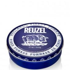 REUZEL Pomade de Fiber DARK-BLUE - Паста для укладки волос ТЁМНО-СИНЯЯ банка 340гр