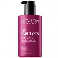 REVLON Professional be FABULOUS DAILY CARE C.R.E.A.M. Conditioner For Normal Thick Hair - Кондиционер для нормальных/густых волос 750мл