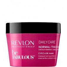 REVLON Professional be FABULOUS DAILY CARE C.R.E.A.M. Mask For Normal Thick Hair - Маска для нормальных/густых волос 200мл