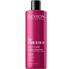 REVLON Professional be FABULOUS DAILY CARE C.R.E.A.M. Shampoo For Normal Thick Hair - Очищающий шампунь для нормальных/густых волос 1000мл