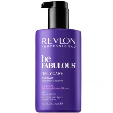 REVLON Professional be FABULOUS DAILY CARE FINE HAIR C.R.E.A.M. Conditioner For Fine Hair - Кондиционер для тонких волос 750мл