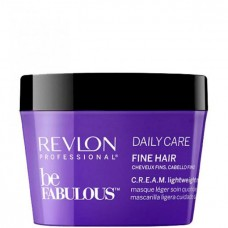 REVLON Professional be FABULOUS DAILY CARE FINE HAIR C.R.E.A.M. Mask For Fine Hair - Маска для тонких волос 200мл