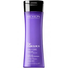 REVLON Professional be FABULOUS DAILY CARE FINE HAIR C.R.E.A.M. Shampoo For Fine Hair - Очищающий шампунь для тонких волос 250мл