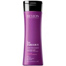 REVLON Professional be FABULOUS HAIR RECOVERY Keratin Conditioner - Очищающий кондиционер с кератином 250мл
