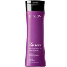 REVLON Professional be FABULOUS HAIR RECOVERY Keratin Shampoo - Очищающий шампунь с кератином 250мл