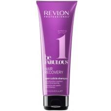 REVLON Professional be FABULOUS STEP 1 HAIR RECOVERY Open Cuticle Shampoo - Очищающий шампунь, открывающий кутикулу 250мл