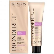 REVLON Professional BLONDERFUL 5`Soft Toner - 5-минутный тонирующий крем 9.02 Светлый Блондин Натур-Перламутровый 50мл