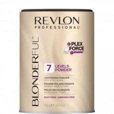 REVLON Professional BLONDERFUL 7 Lightening Powder - Нелетучая Осветляющая пудра для волос 7, 750гр