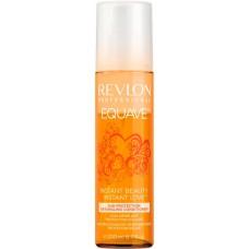 REVLON Professional EQUAVE SUN PROTECTION Detangling Conditioner - Несмываемый 2-х фазный кондиционер для волос Солнцезащитный 200мл