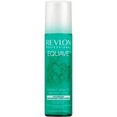REVLON Professional EQUAVE VOLUMIZING Detangling Conditioner - Несмываемый 2-х фазный кондиционер для Объёма тонких волос 200мл