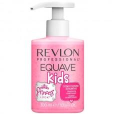 REVLON Professional EQUAVE KIDS PRINCESS Shampoo - Шампунь для детей Принцесса 2-в-1, 300мл