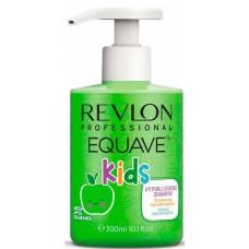 REVLON Professional EQUAVE KIDS APPLE Shampoo - Шампунь для детей 2-в-1 Увлажняющий 300мл