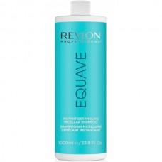 REVLON Professional EQUAVE Micellar Shampoo - Мицелярный шампунь для всех типов волос Увлажняющий 1000мл