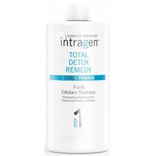 REVLON Professional Intragen Total Detox Remedy Shampoo - Очищающий шампунь-эксфолиант 1000мл