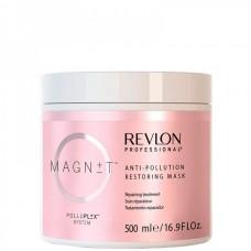 REVLON Professional MAGNET Anti-Pollution Restoring Mask - Восстанавливающая маска для волос 500мл
