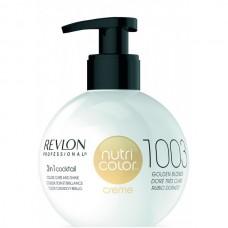 REVLON Professional nutri color creme 1003 - Коктейль-колор 3-в-1 с питательным уходом 1003 ОЧЕНЬ СВЕТЛО ЗОЛОТОЙ 270мл