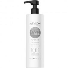 REVLON Professional nutri color creme 1011 - Коктейль-колор 3-в-1 с питательным уходом 1011 ИНТЕНСИВНО СЕРЕБРИСТЫЙ 750мл