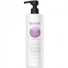 REVLON Professional nutri color creme 1022 - Коктейль-колор 3-в-1 с питательным уходом 1022 ИНТЕНСИВНЫЙ ПЛАТИНУМ 750мл