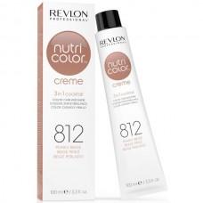REVLON Professional nutri color creme 812 - Коктейль-колор 3-в-1 с питательным уходом 812 ЖЕМЧУЖНО БЕЖЕВЫЙ 100мл