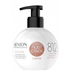 REVLON Professional nutri color creme 812 - Коктейль-колор 3-в-1 с питательным уходом 812 ЖЕМЧУЖНО БЕЖЕВЫЙ 270мл