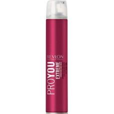 REVLON Professional PROYOU Hairspray Extreme - Лак для волос СИЛЬНОЙ фиксации 500мл