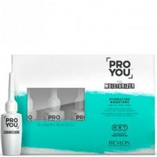 REVLON Professional PRO YOU MOISTURIZER Hydrating Boosters - Бустер увлажнение для всех типов волос 10 х 15мл