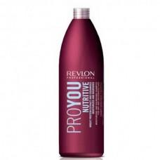 REVLON Professional PROYOU Nutritive Shampoo - Шампунь для волос увлажняющий и питательный 1000мл