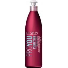 REVLON Professional PROYOU Purifying Shampoo - Шампунь для волос очищающий 350мл