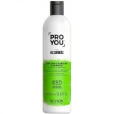 REVLON Professional PRO YOU TWISTER Curl Moisturizing Shampoo - Увлажняющий шампунь для волнистых и кудрявых волос 350мл