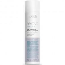REVLON Professional RE/START BALANCE Anti-Dandruff Micellar Shampoo - Мицеллярный шампунь для кожи головы против перхоти и шелушений 250мл