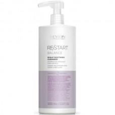 REVLON Professional RE/START BALANCE Scalp Soothing Cleanser - Мягкий шампунь для чувствительной кожи головы 1000мл
