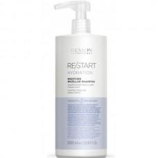 REVLON Professional RE/START HYDRATION Moisture Micellar Shampoo - Мицеллярный шампунь для нормальных и сухих волос 1000мл