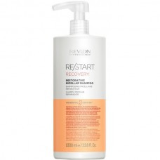 REVLON Professional RE/START RECOVERY Restorative Micellar Shampoo - Мицеллярный шампунь для поврежденных волос 1000мл