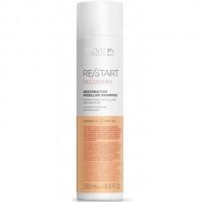 REVLON Professional RE/START RECOVERY Restorative Micellar Shampoo - Мицеллярный шампунь для поврежденных волос 250мл