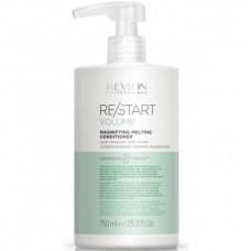 REVLON Professional RE/START VOLUME Magnifying Melting Conditioner - Кондиционер придающий волосам объем 750мл