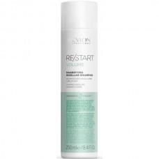 REVLON Professional RE/START VOLUME Magnifying Micellar Shampoo - Мицеллярный шампунь для тонких волос 250мл