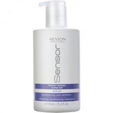 REVLON Professional Sensor Vitalizing Conditioning-Shampoo - Шампунь-кондиционер для нормальных волос Энергетический 750мл