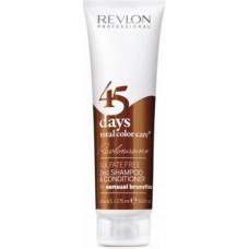 REVLON Professional REVLONISSIMO Color Care Shampoo & Conditioner Sensual Brunettes - Шампунь-кондиционер для шоколадных оттенков 275мл