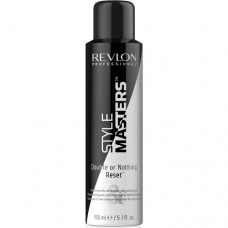 REVLON Professional STYLE MASTERS Double or Nothing Reset - Сухой шампунь очищающий и придающий объем волосам 150мл