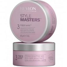 REVLON Professional STYLE MASTERS Fiber Wax 3 - Воск формирующий с текстурирующим эффектом для волос 85гр