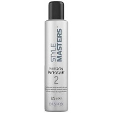 REVLON Professional STYLE MASTERS Hairspray Pure Styler 2 - Лак неаэрозольный средней фиксации 325мл