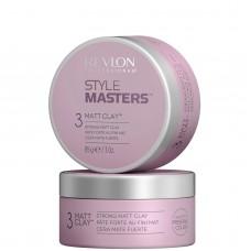 REVLON Professional STYLE MASTERS Math Clay - Глина моделирующая для волос 85гр