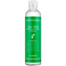 secret Key TEA TREE Refresh Calming Toner - Тоник для лица Очищающий с ЭКСТРАКТОМ ЧАЙНОГО ДЕРЕВА 250мл