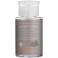 secret nature Volcanic Ash Lip & Eye Makeup Remover - Жидкость для снятия макияжа глаз и губ с ВУЛКАНИЧЕСКИМ ПЕПЛОМ 150мл