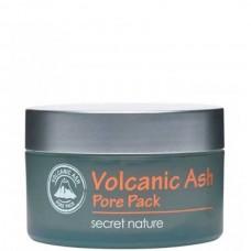 secret nature Volcanic Ash Pore Pack - Маска для лица Очищающая с ВУЛКАНИЧЕСКИМ ПЕПЛОМ 100мл