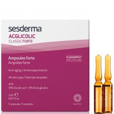 Sesderma ACGLICOLIC CLASSIC FORTE Ampoules forte - Средство в Ампулах 5 x 2мл